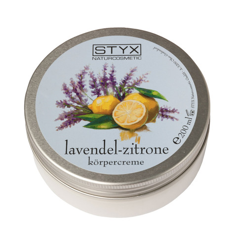 Lavendel-citroen-bodycr�me, 200 ml