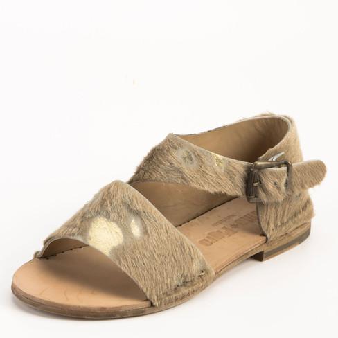 Sandaal, goud 39