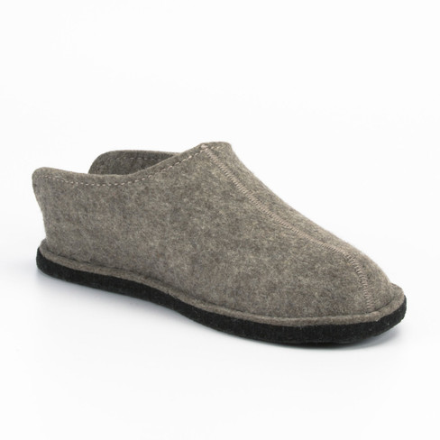 "Pantoffels ""smiley"", taupe"
