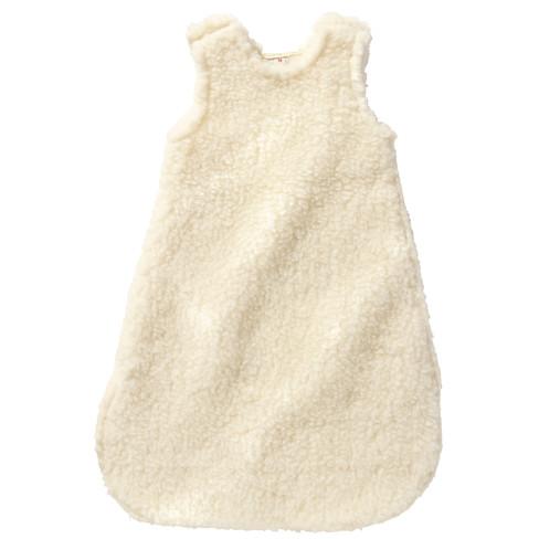 Babyslaapzak met wollen bovenlaag, natuur l 70 cm