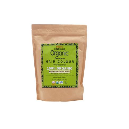 Radico plantaardige haarkleuring, 500g, koperbruin
