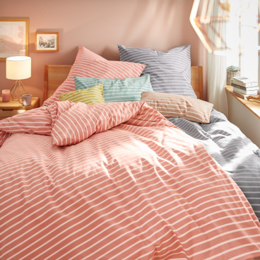 Linon-beddengoed-programma, blush