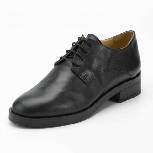 Lage schoen, zwart 41
