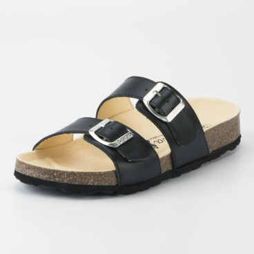 "Slipper ""Hilden"", zwart"