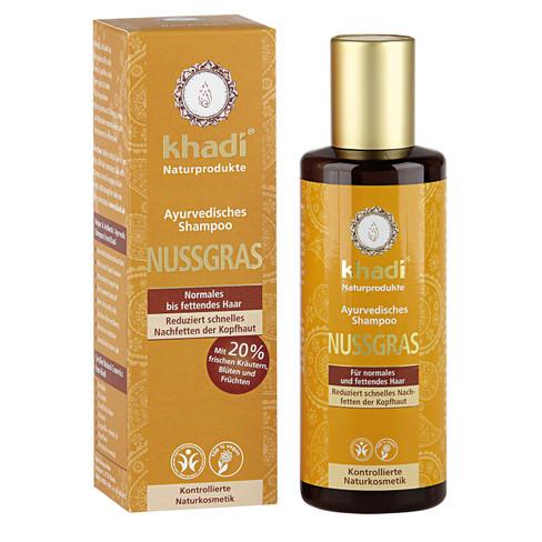 Ayurvedische Notengras Shampoo, 210 ml
