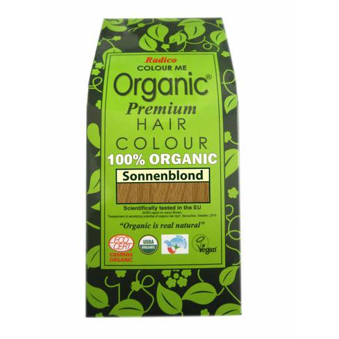 Radico Organic plantaardige haarkleuring 100 g, zonneblond