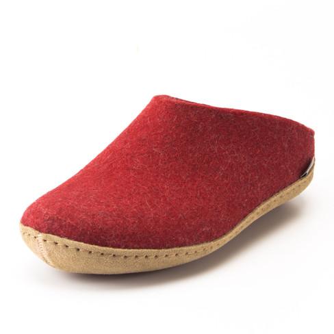 Pantoffels voor hem & haar, rood 38