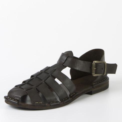 Sandaal, donkerbruin 42